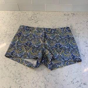 J. Crew City Fit stretch shorts